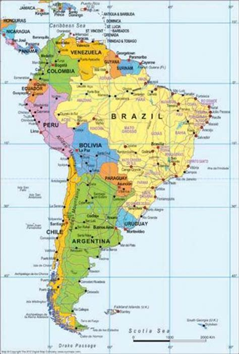 map of south america with cities south america map digital xyz map stop