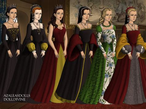 Tudor Style Wallpaper henry viii s first wives vs the tudors queens by
