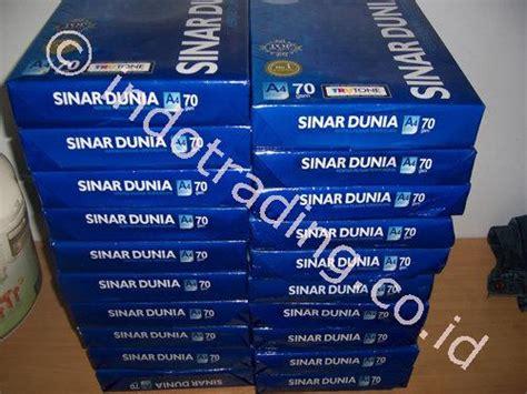 Murah Kertas Hvs Bola Dunia Paper F4 80 Gram 500 Lembar jual kertas distributor di indonesia supplier
