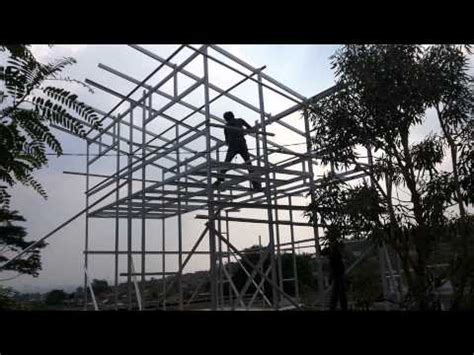 membuat rumah tingkat dengan baja ringan ph 081321 964040 cara membuat struktur rumah baja ringan