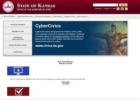 State Of Kansas Records Kobach Pulls Personal Id Info From State Website After Gizmodo Report Kcur