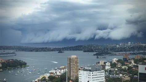 Shelf Cloud Sydney by Shelf Cloud Rolls Sydney Harbor