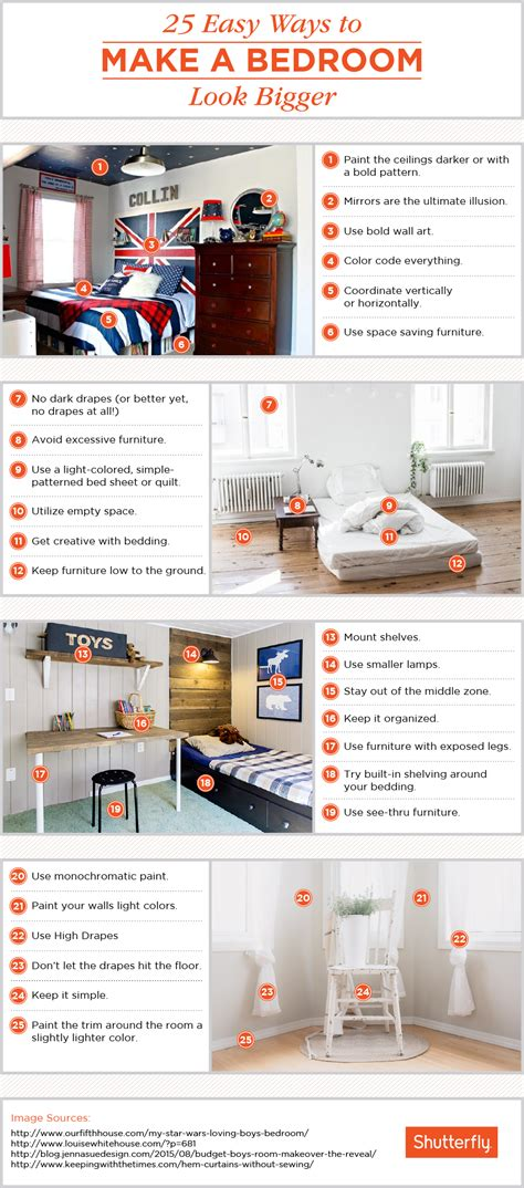 25 ways to make a small bedroom look bigger shutterfly 25 ways to make a small bedroom look bigger