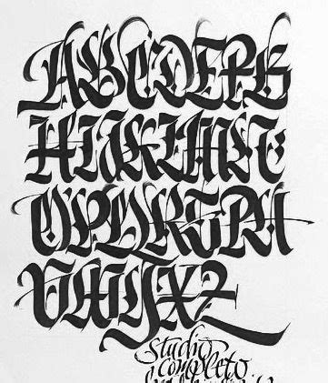 swagger tattoo fonts pinterest calligraphy fonts