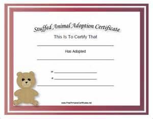 adoption certificate template adoption certificate template 12 free pdf documents