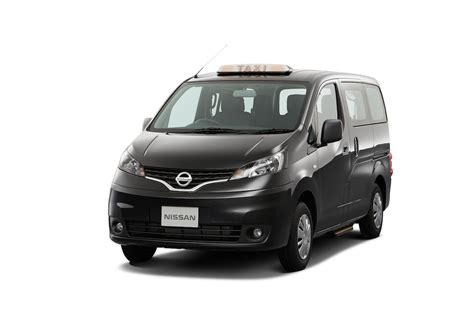 nissan vanette 2013 nissan nv200 evalia vanette lpg taxi launching in japan