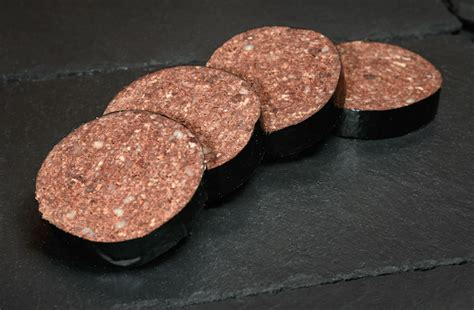 black pudding black pudding slices galloway quality meats