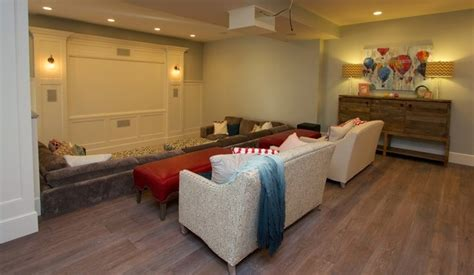 Home Theater Design Utah by Utah Valley Parade Of Home Basement Farmhouse Home
