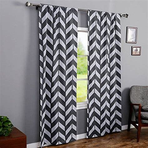 large pattern curtains the big bold chevron curtain is the crochet curtain pattern for the bath bedroom