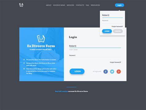 html design of login page 50 modern sign up login form ui designs web graphic