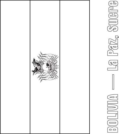 Bolivia Flag Coloring Page Download Free Bolivia Flag Flag Of Bolivia Coloring Page