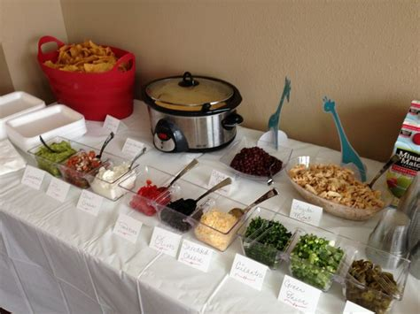 Baby Shower In Restaurant Ideas by Best 25 Taco Bar Buffet Ideas On Rehearsal