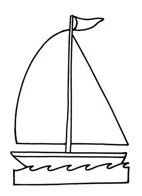 dessin bateau colorier coloriage bateau voilier 224 imprimer