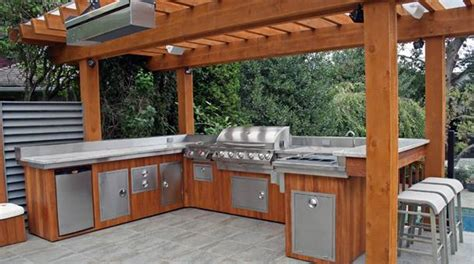 Outdoor Kitchen Ideas Designs Modern Outdoor Kitchen Ideas 8 Interior Design Mag