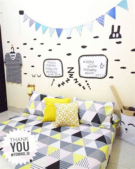 Dekorasi Dinding lukisan dinding bilik tidur desainrumahid