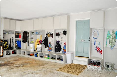 Garage Entry Organization Inspiration To Create Your Own Mudroom Space Findwell