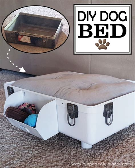 how to make a dog bed how to make a diy dog bed from a suitcase