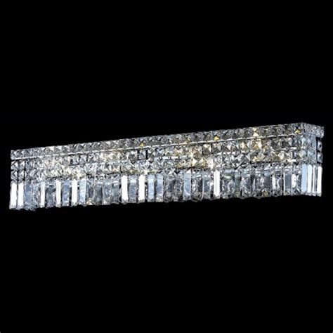 elegant bathroom lighting elegant lighting 2032w36c ec crystal maxime 36 in vanity
