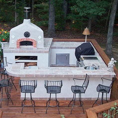 how to design outdoor kitchen with pizza oven to make it 12 best outdoor kitchen images on pinterest outdoor