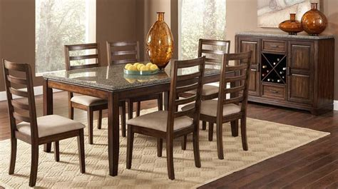 granite top dining table catalog of home furniture sets von furniture