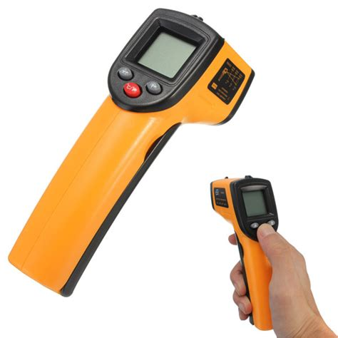 Infrared Thermometer Gm320 Termometer benetech gm320 non contact laser lcd display digital ir