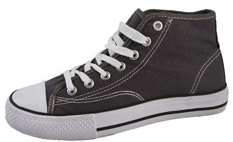 mens canvas ankle boots mens womens canvas shoes hi tops lace up pumps ankle boots