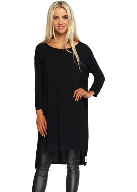Flavia Top a postcard from brighton black flavia slouch top