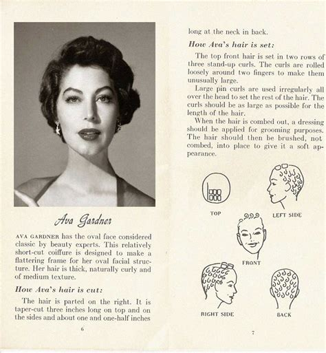 vintage hairstyles book pdf 10 hollywood hairstyles of the 50s glamourdaze
