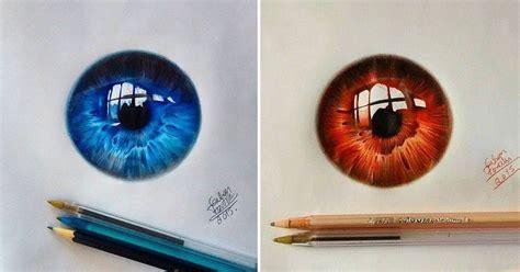 imagenes de ojos realistas para dibujar incre 237 bles dibujos realistas de ojos de colores hau