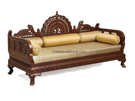 sofa loveseat ottoman set design carving teak wooden maharaja sofa sets pearl