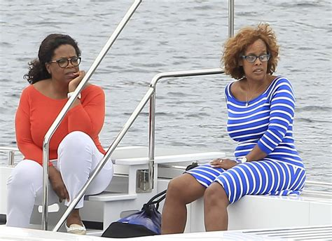 Gayle King Says Oprah Never Uses The N Word by Oprah And Gayle King In Ibiza Spain 2014