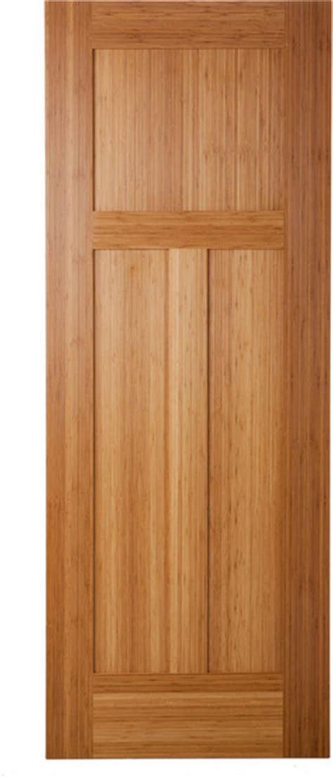 Bamboo Interior Door Bamboo Doors Traditional Interior Doors San Luis Obispo By Green Leaf Doors