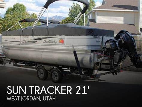 tracker boats utah sold sun tracker fishin barge 21 boat in west jordan ut