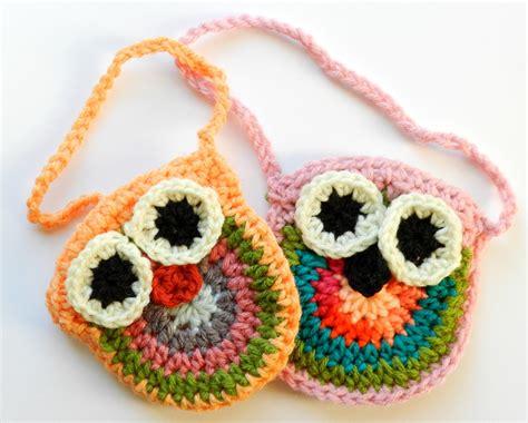 owl tote bag crochet pattern free elise engh studios crochet owl purses