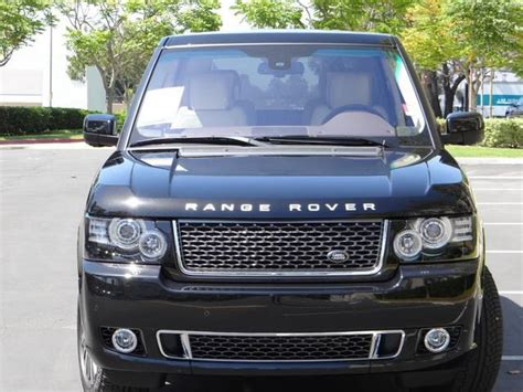 2012 land rover range rover autobiography 10 000 off msrp