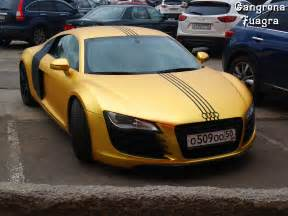 gold audi r8 supercar plated cars golden lifestyle