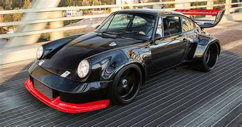 porsche 930 modified this modified porsche 930 turbo is what dreams