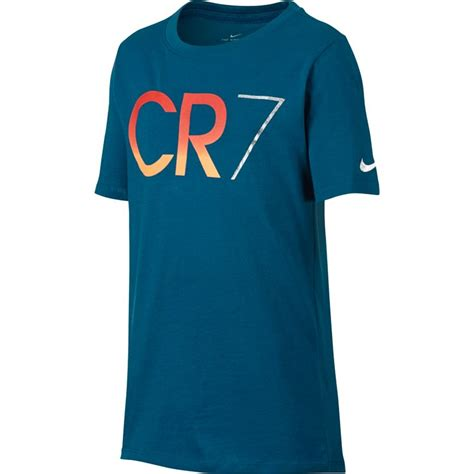 Tshirt C Ronaldo nike youth ronaldo cr7 t shirt industrial blue nike