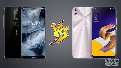 Asus Zenfone 6 Vs Samsung Galaxy S10 by Nokia X6 Vs Asus Zenfone 5 2018 Specs Price Features Comparison Noypigeeks