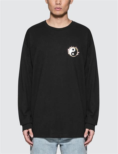 Hoodie Stussy New Yorkleadermerch lyst stussy yin yang l s t shirt in black for