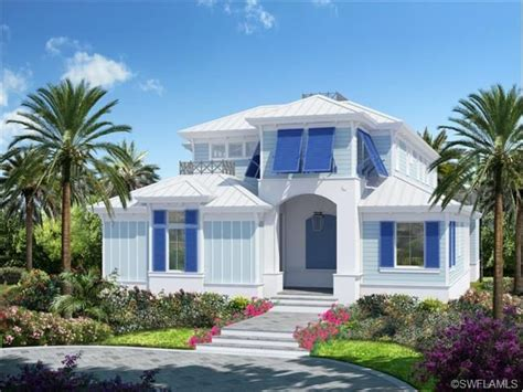 Small Home Builders Naples Fl Florida Style Key West Home New Construction In Olde