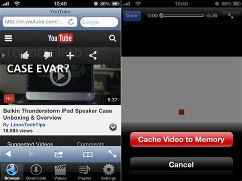 download youtube for iphone download web videos to your iphone for free with vdownload