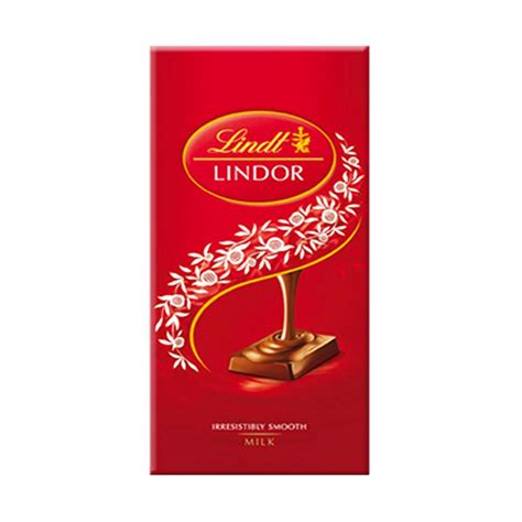 Cokelat Milk jual lindt lindor milk chocolate cokelat bar 100 g