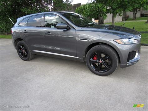 jaguar f pace grey 2017 ammonite grey jaguar f pace 35t awd s 120044735
