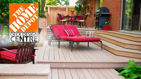 home depot deck plans quot home depot deck design centre quot digital signage youtube
