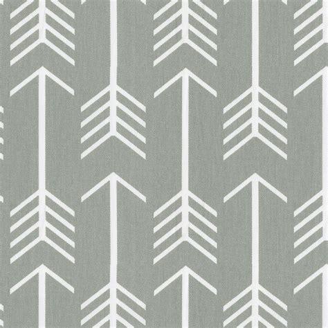 grey arrow pattern gray arrow fabric by the yard gray fabric carousel designs
