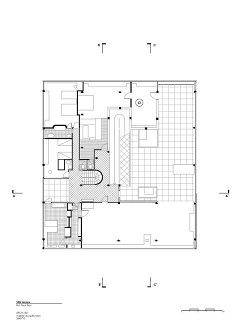 villa savoye floor plan valerie arch 1201 project one