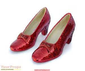 Wizard Of Oz Slippers by The Wizard Of Oz Ruby Slippers Replica Movie Costume