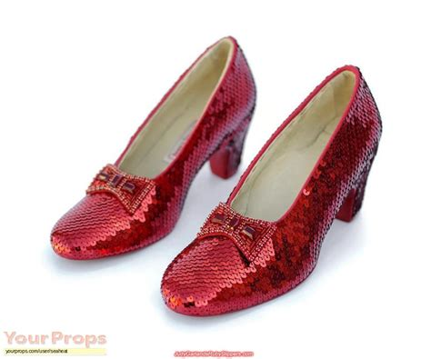 Ruby Sleepers by The Wizard Of Oz Ruby Slippers Replica Costume
