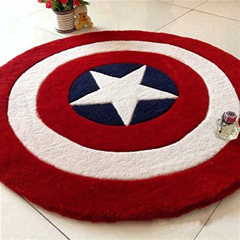 america rug make any room heroic with the captain america shield rug